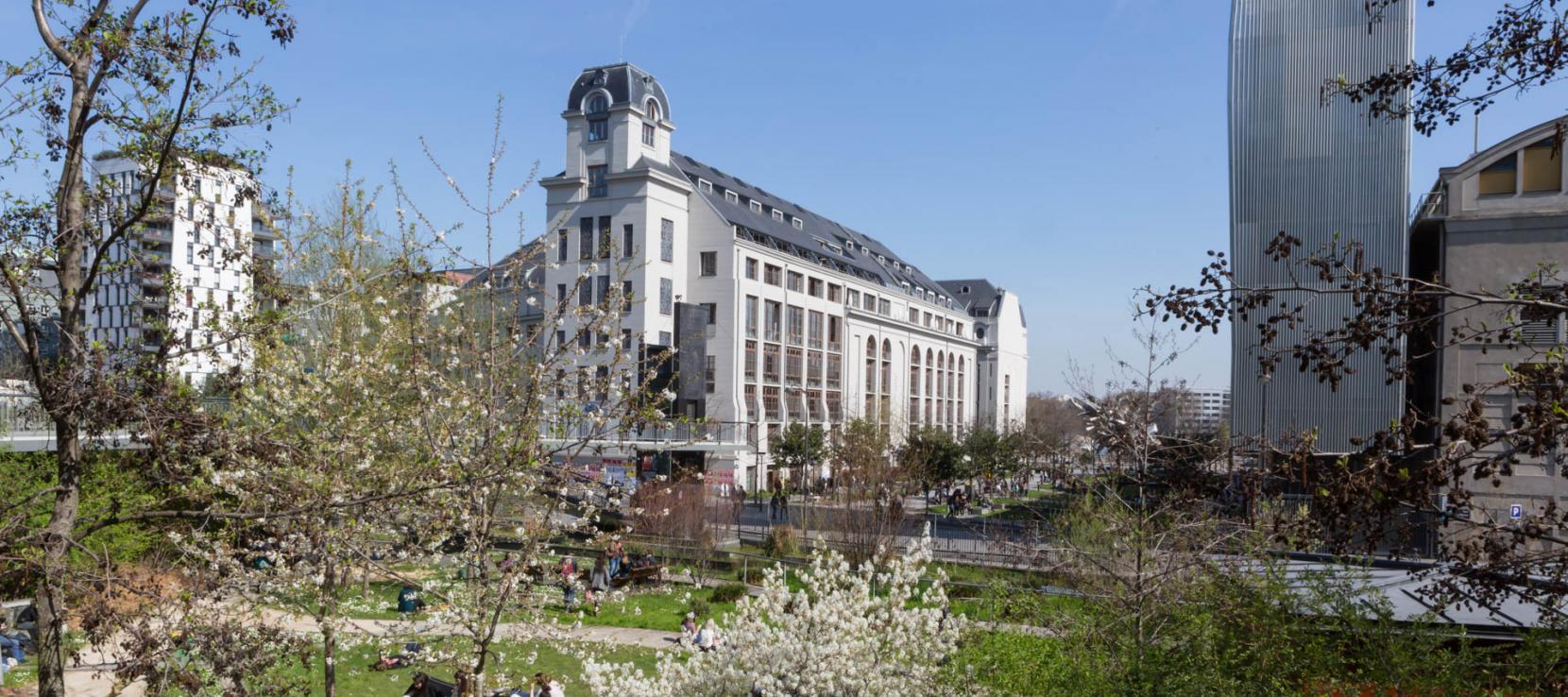 Campus Paris Diderot au Printemps