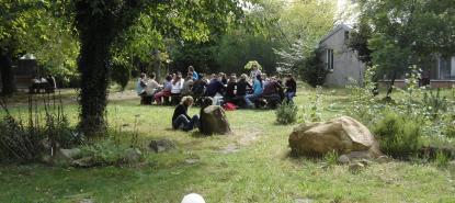 Etudiants à Fontainebleau
