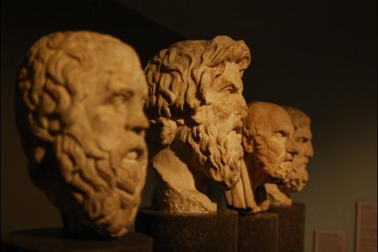 Bustes de philosophes